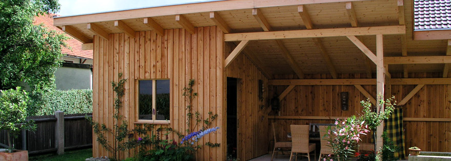 Zimmerei josef fischer in ortenburg holzkonstruktionen for Holzkonstruktion carport